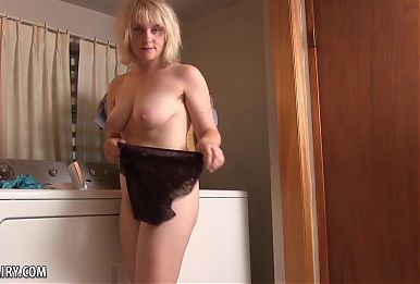 Teddy Snowflower Shows Off Her New Panties